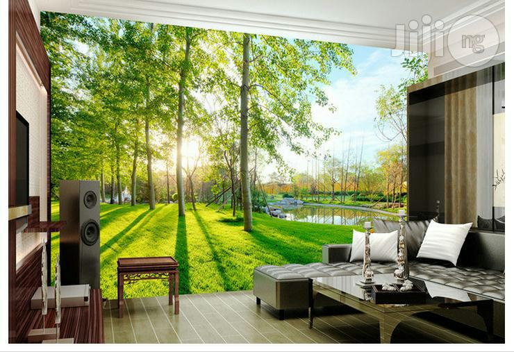3D Epoxy Floor And Wall Paper Interiors | Building Materials for sale in Central Business Dis, Abuja (FCT) State, Nigeria