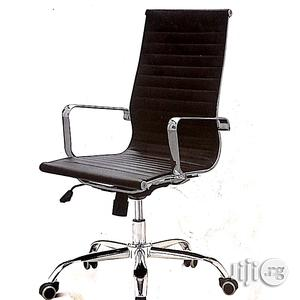 Classy Swivel Office Chair- Black | Furniture for sale in Lagos State, Yaba