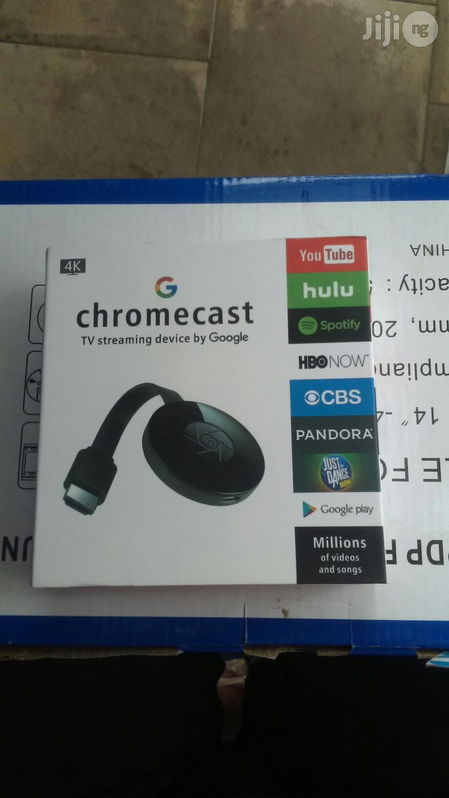Chromecast | Accessories & Supplies for Electronics for sale in Ikeja, Lagos State, Nigeria