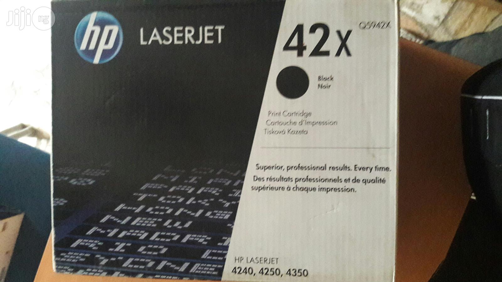 HP 42X Black Toner