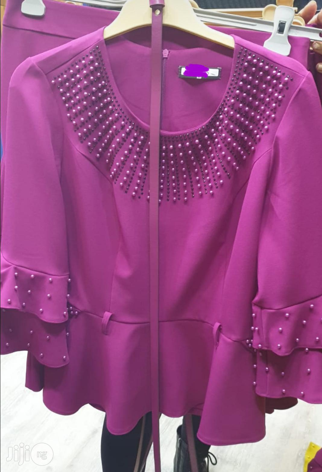 Quality Turkey Blouse and Skirt   Clothing for sale in Port-Harcourt, Rivers State, Nigeria