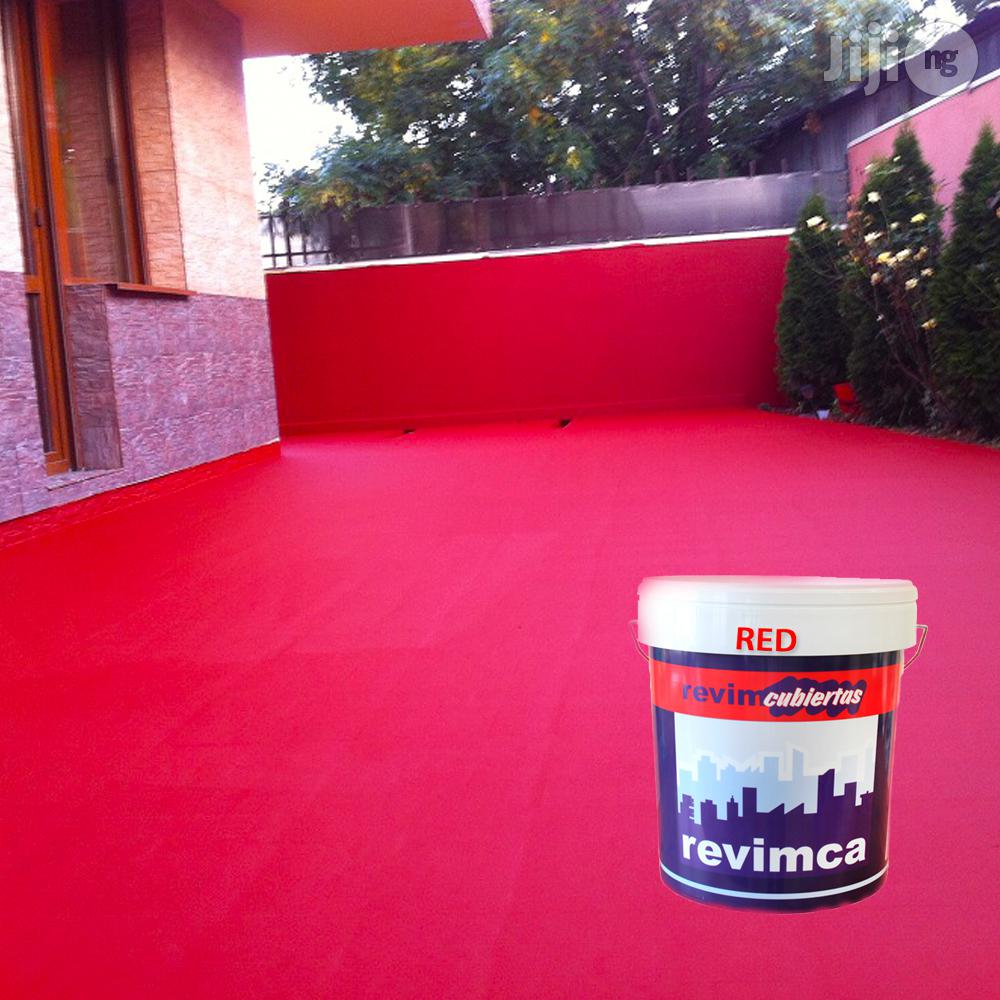 Waterproof Paint For Walls And Deckings