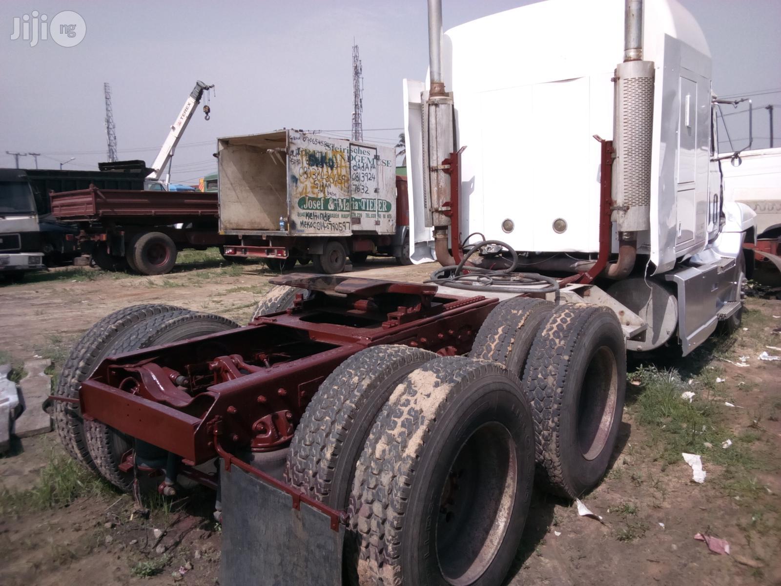 Mack Ch Model Dubble Axisel 1998 White | Trucks & Trailers for sale in Apapa, Lagos State, Nigeria