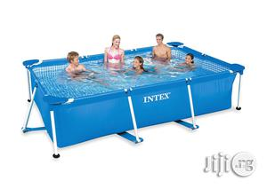 Intex 9ft by 6 Feet Mobile Swimming Pool | Sports Equipment for sale in Lagos State, Surulere