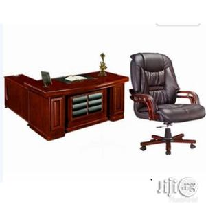 Imported Executive Office Table With Chair   Furniture for sale in Lagos State, Ojo
