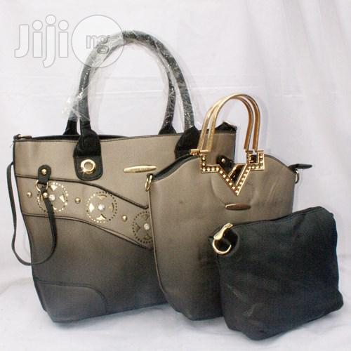 Quality Medium Women Capacity 3 in 1 Hand Bags
