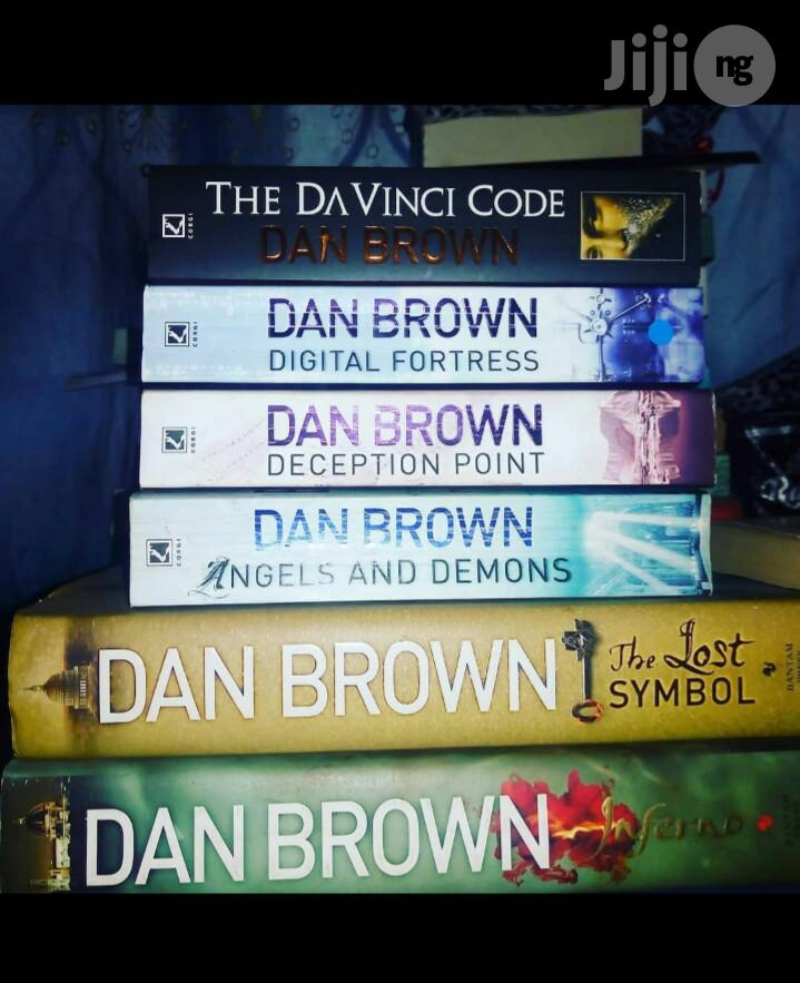 Collection Of Dan Brown Novels