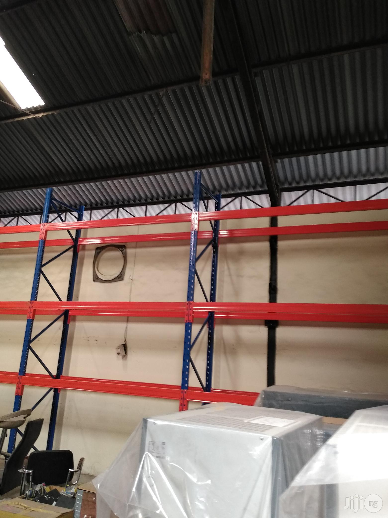 Metal Industrial Pallet Rack For Warehouse   Store Equipment for sale in Lagos State, Nigeria