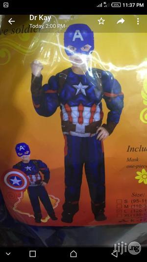 Captain America Costume   Toys for sale in Lagos State, Lagos Island (Eko)