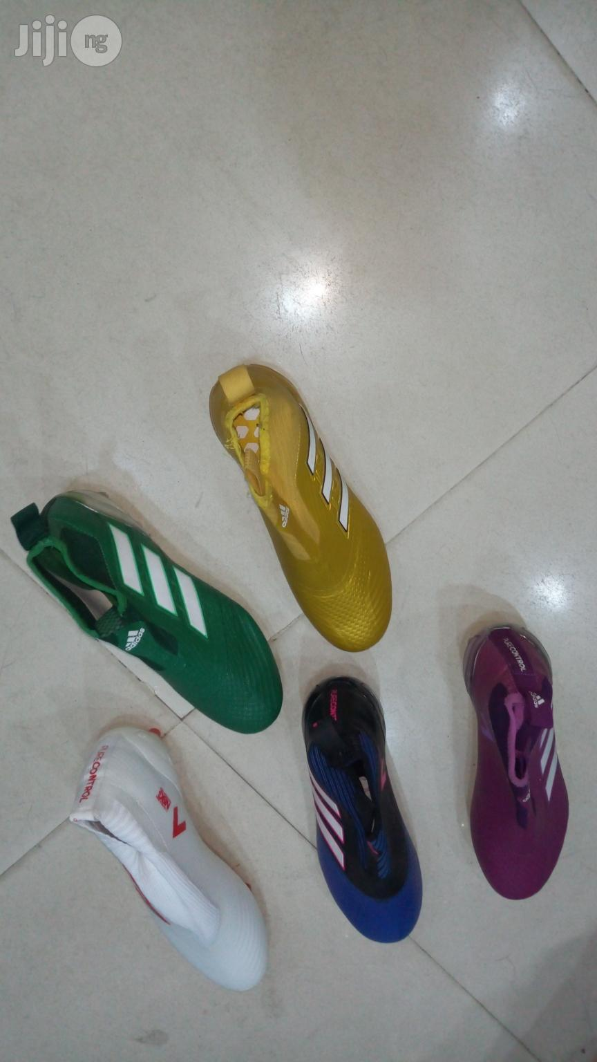 Latest Adidas Angle Boot | Shoes for sale in Surulere, Lagos State, Nigeria
