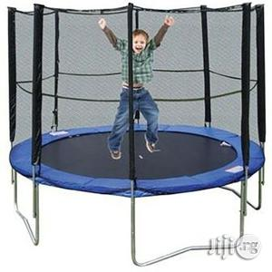 6ft Trampoline Rebounder With Net and Ladder   Sports Equipment for sale in Rivers State, Port-Harcourt