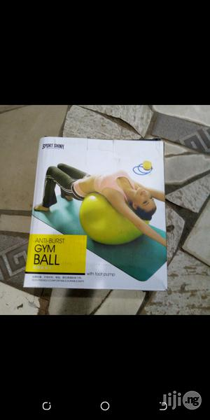 Gym Ball for Exercise Plain | Sports Equipment for sale in Lagos State, Surulere