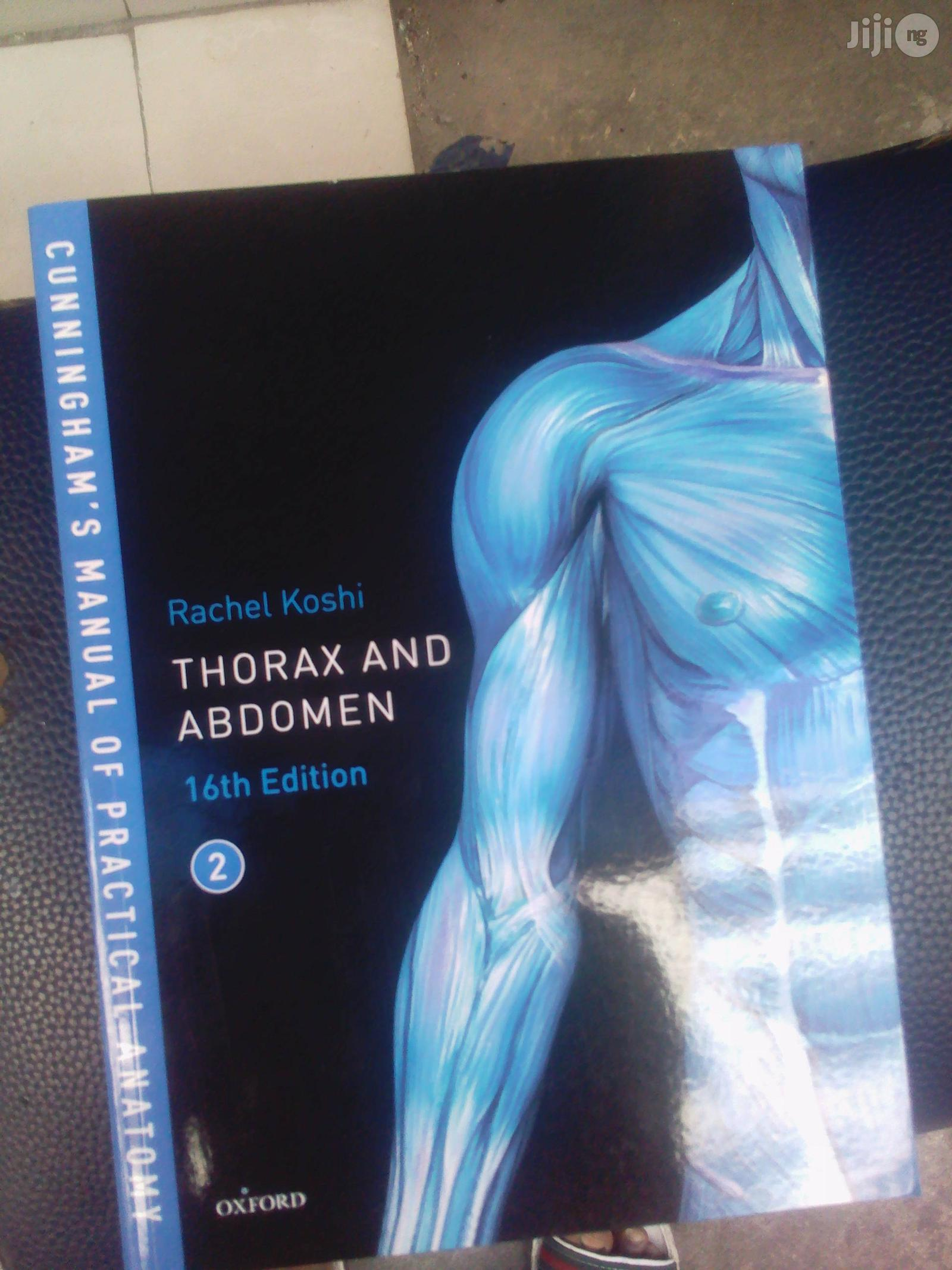 Cunningham's Manual Of Prctical Anatomy