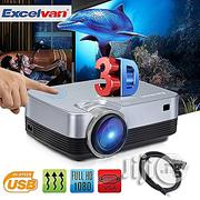 Excelvan Full HD And Portable Projector | TV & DVD Equipment for sale in Lagos State, Ikeja