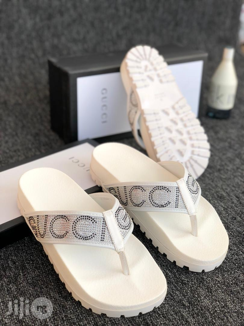 gucci palm slippers off 62% - www