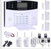 Home Alarm System GSM SMS Burglar Security Alarm System Wireless LCD Screen Detector Sensor Kit | Safety Equipment for sale in Lagos State, Ikeja