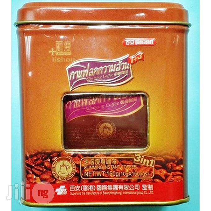 Lishou Slimming Coffee (STRONG VARIANT) (15 Sachets/Can)