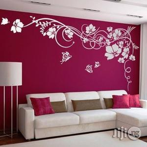 House And Office Painting Interior Decoration Wall Art Designs Wallpaper Installation   Building & Trades Services for sale in Lagos State, Ajah