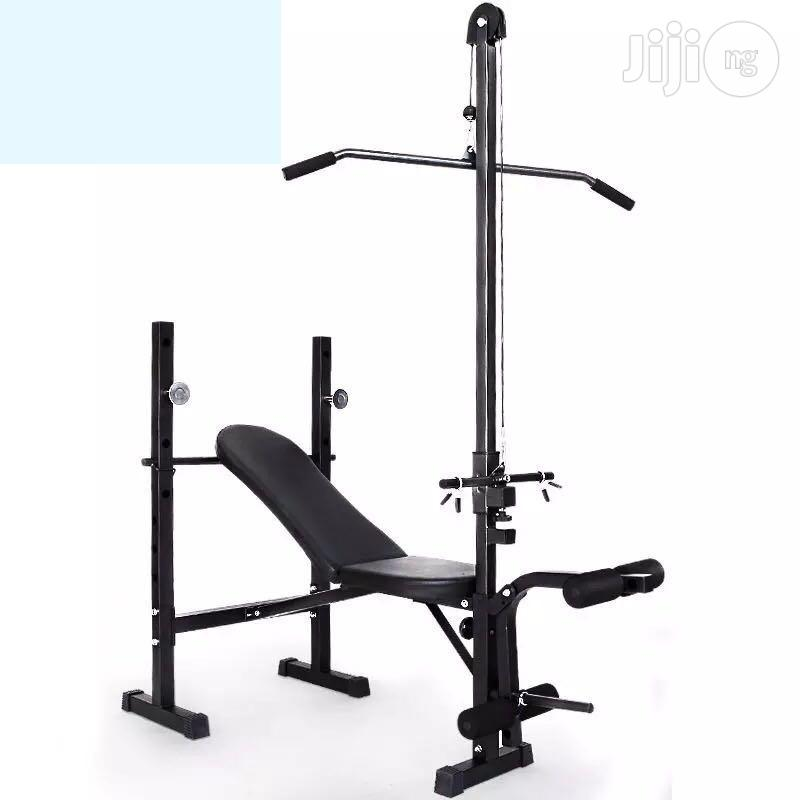 New Weight Bench With Lat Pull Down