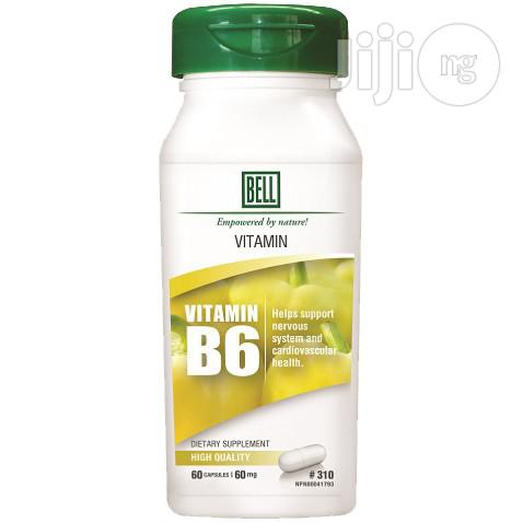 Vitamin B6 for Nervous System and Cardiovascular Health