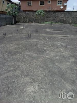 Full Plot of Land With German Floor Upstairs Foundation for Sale   Land & Plots For Sale for sale in Lagos State, Ojo