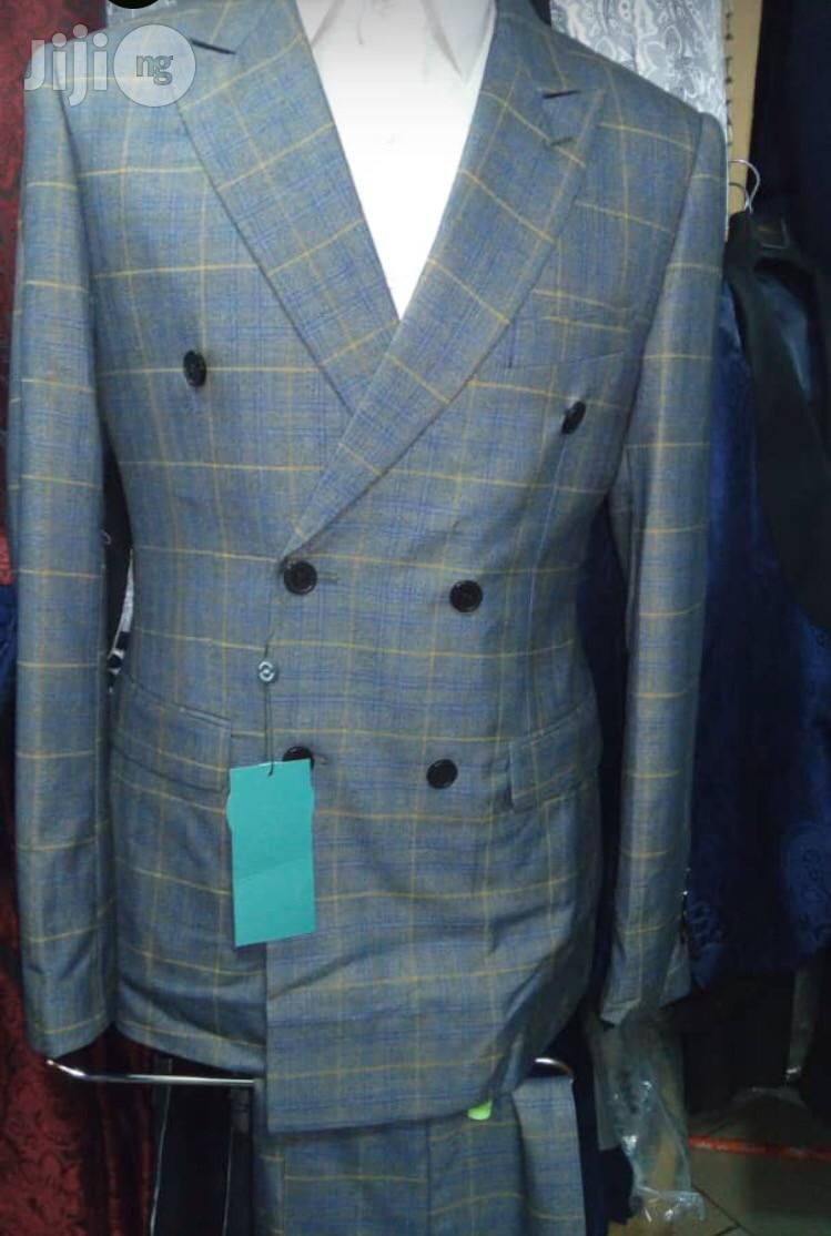 Double Breasted Slim Fit Men Suit | Clothing for sale in Lagos Island (Eko), Lagos State, Nigeria