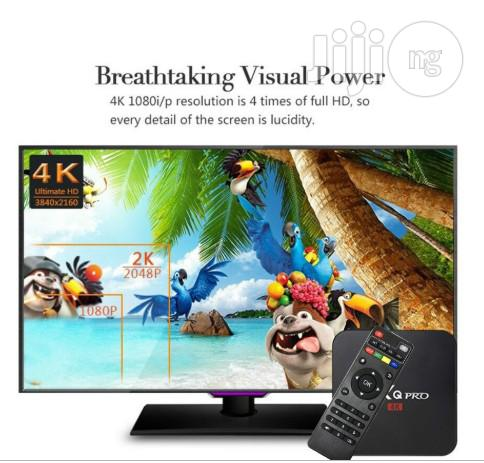 MXQ PRO 4K Android 7.1 Smart TV Box | TV & DVD Equipment for sale in Ojodu, Lagos State, Nigeria