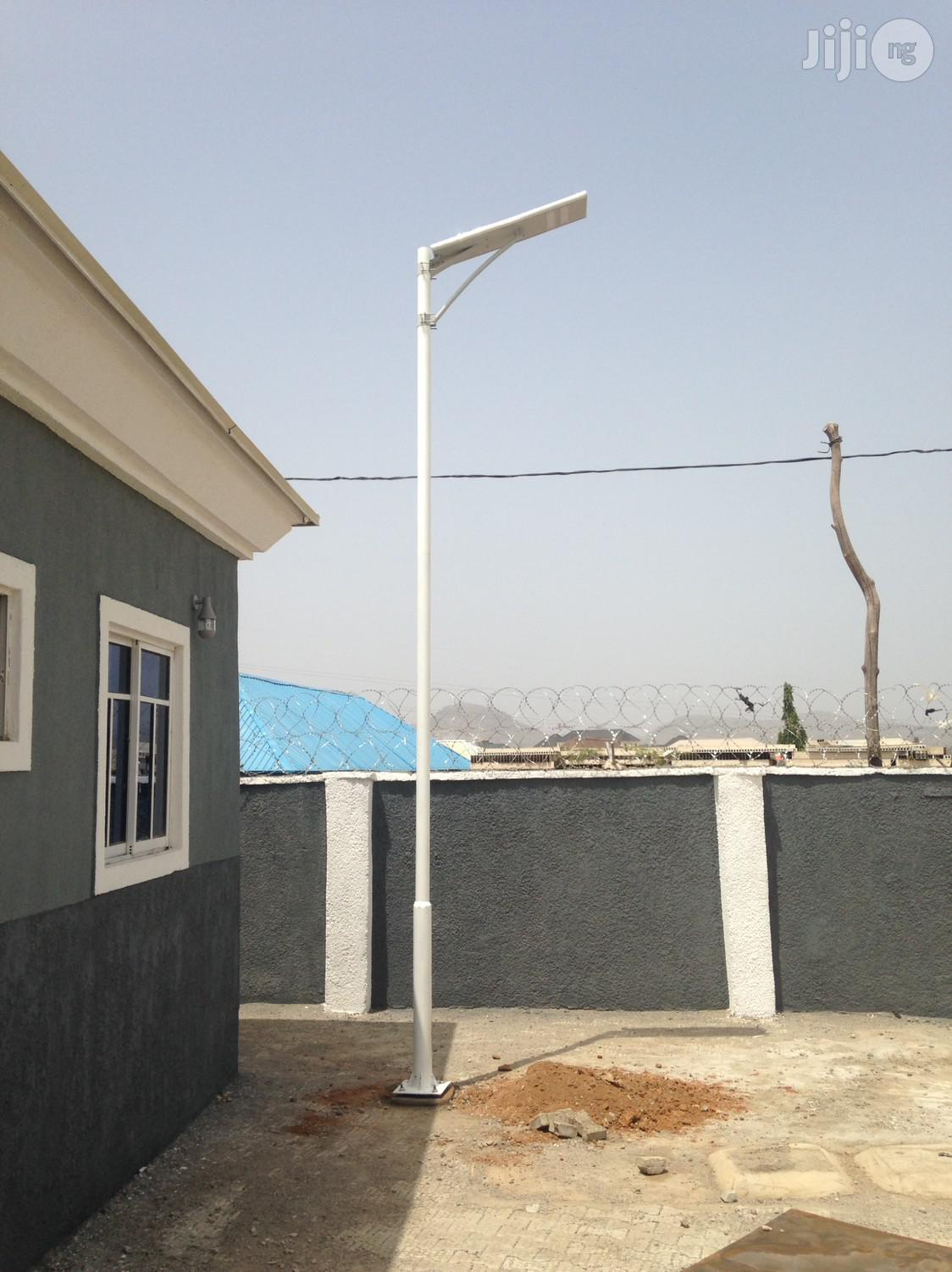 60watts Integrated Solar Street Light With Pole