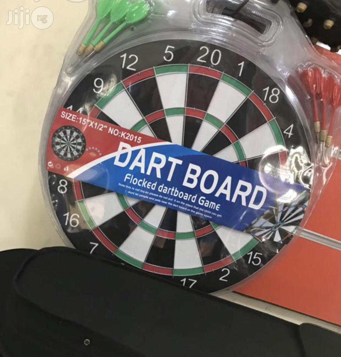 New Dart Board With Arrow