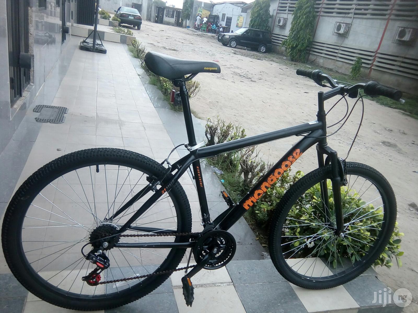 Mongoose Suspension Sport Bicycle
