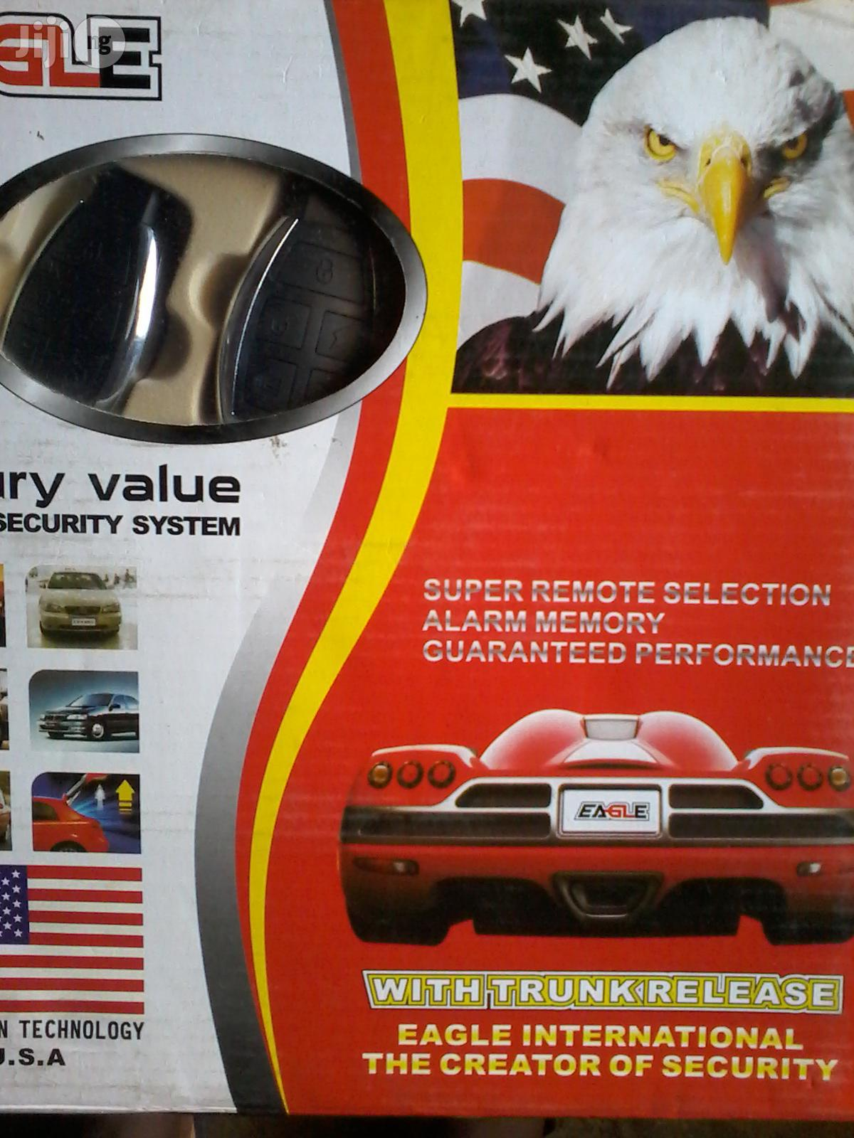 Eagle Super Remote Selection Alarm Memory Security System