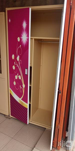 Imported Quality Full Height Metal Cabinet With Mirror And Hanger   Furniture for sale in Lagos State, Ojo