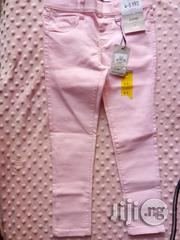 Pencil Pink Chinos | Children's Clothing for sale in Lagos State, Ikorodu