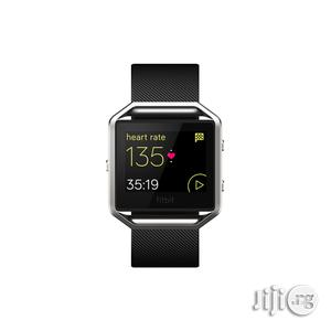 Fitbit Smart Fitness Watch Blaze - Black. | Smart Watches & Trackers for sale in Lagos State, Lagos Island (Eko)