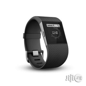 Fitbit Surge Black Size - Small | Smart Watches & Trackers for sale in Lagos State, Lagos Island (Eko)