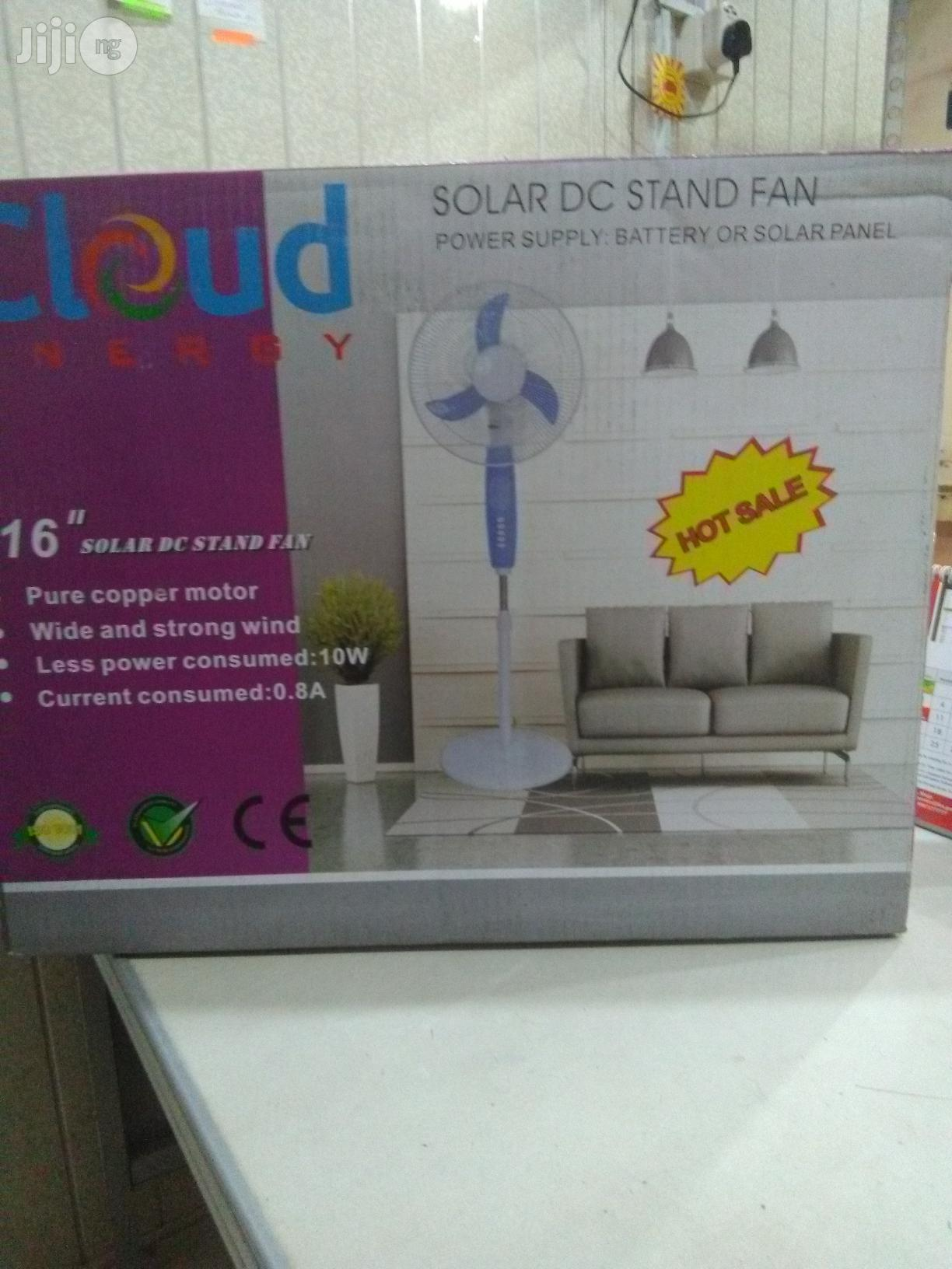 "16"" Solar D C Standing Fan | Solar Energy for sale in Amuwo-Odofin, Lagos State, Nigeria"