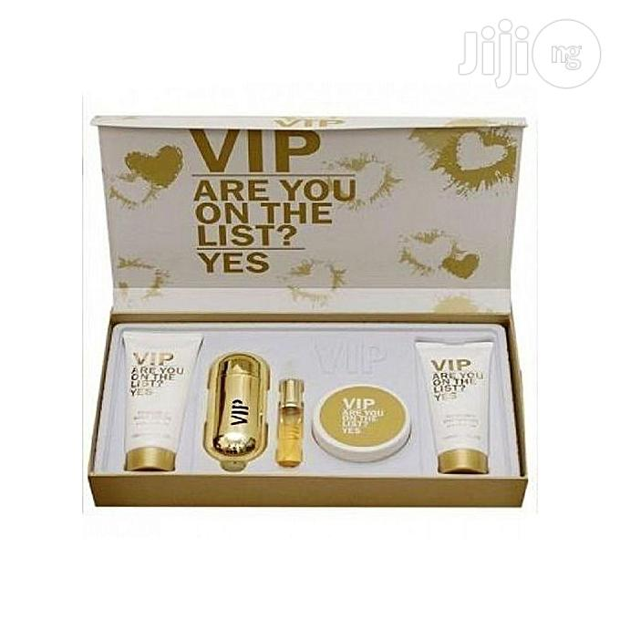 Lady Vip 5 In 1 Gift Set Perfume