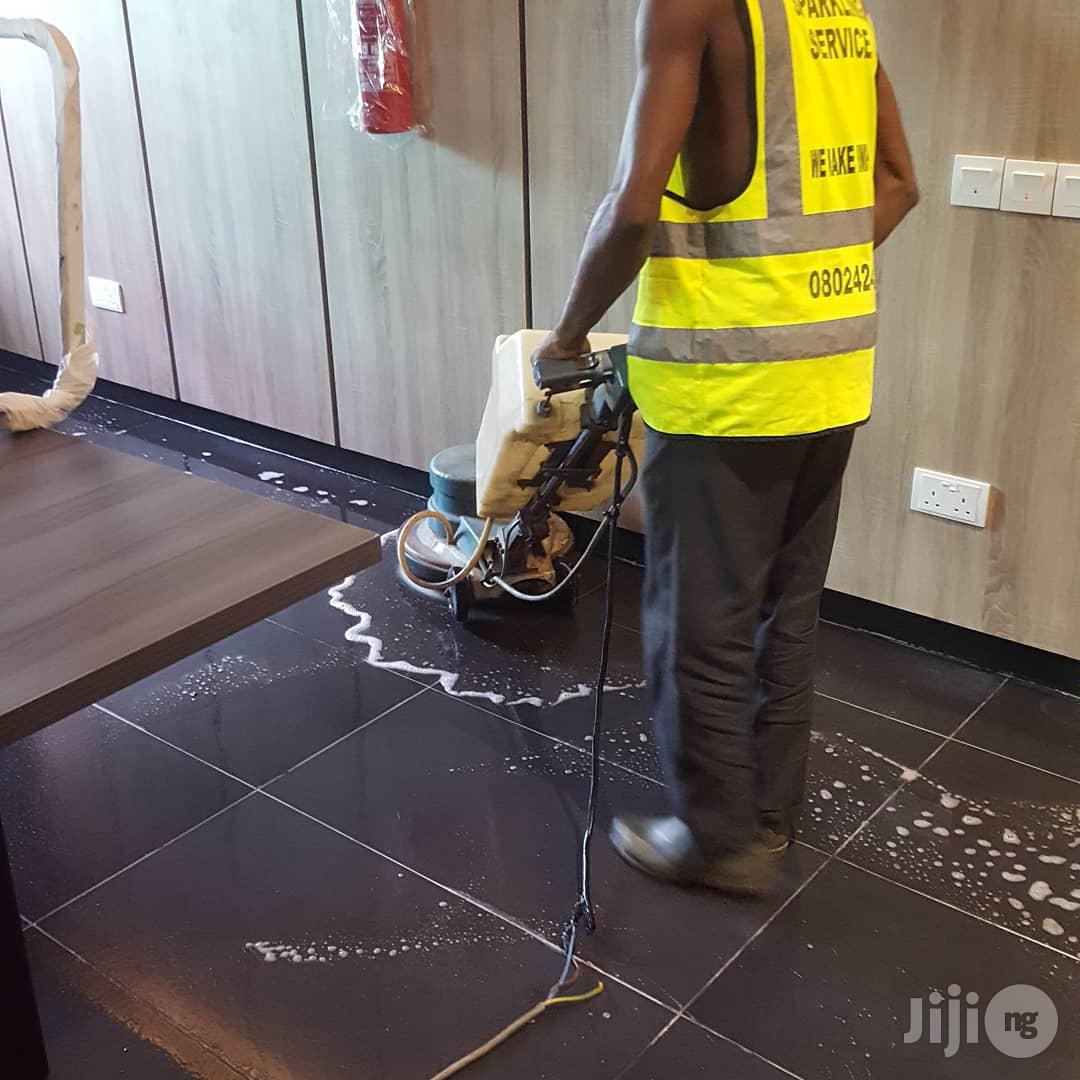 Cleaning And Tiles Polishing