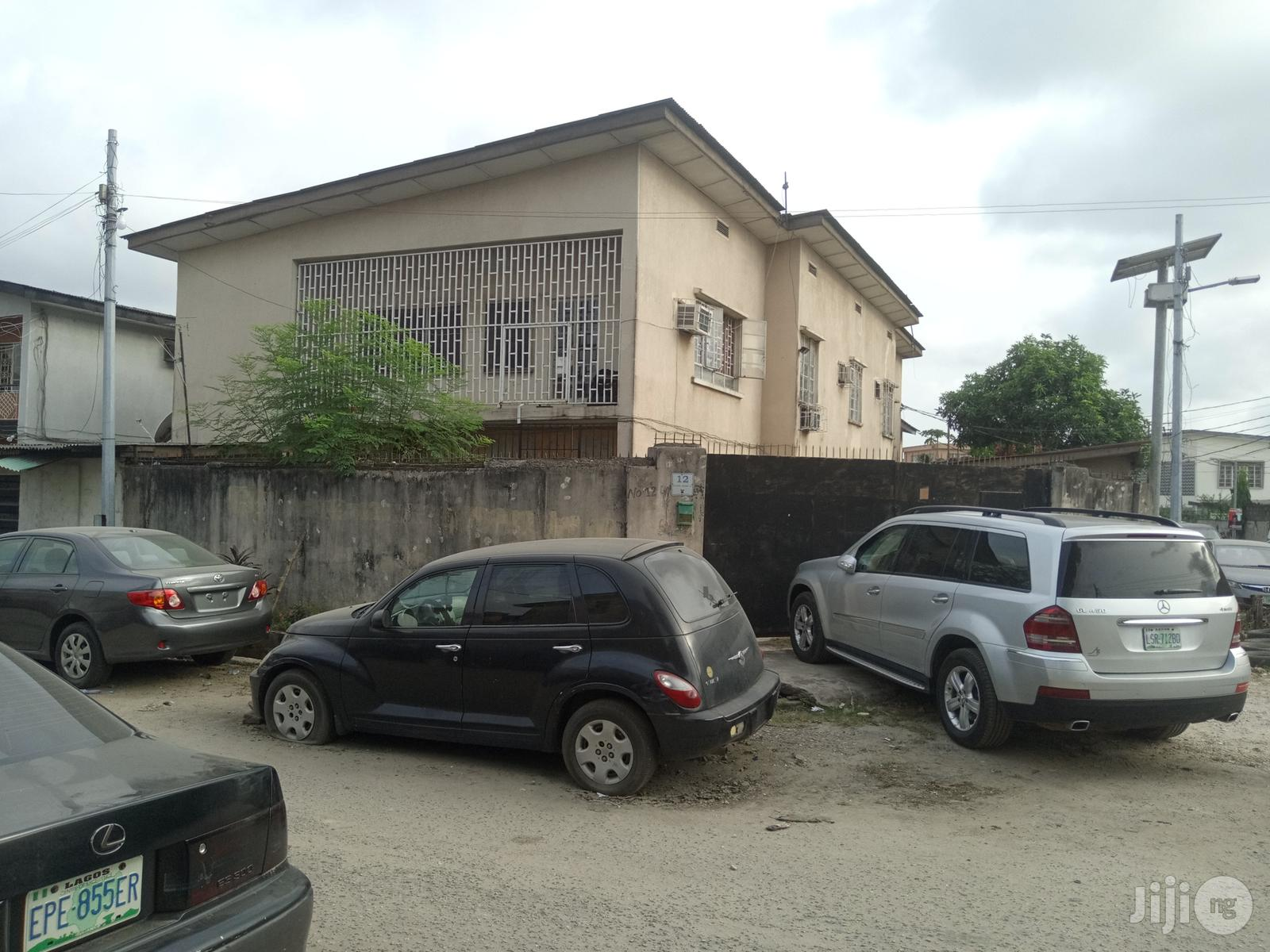 Block Of 4 Flats Of 3 Bedroom Flat Off Alhaji Masha For Sale
