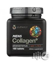 Youtheory Mens Collagen 160 Tablets | Vitamins & Supplements for sale in Lagos State, Amuwo-Odofin