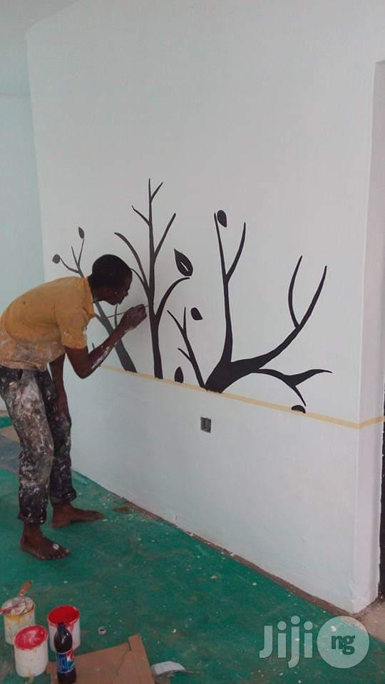 Painting Design and Wall Arts   Building & Trades Services for sale in Lekki, Lagos State, Nigeria