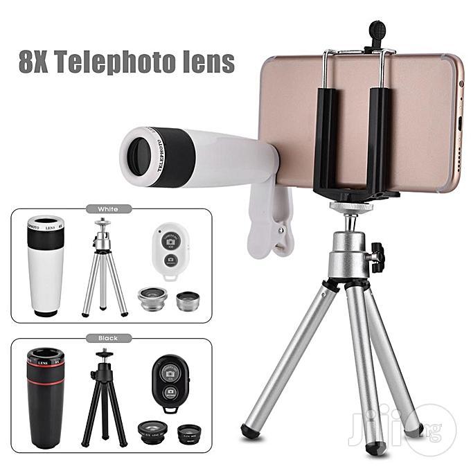 10 In 1 Phone Camera Telescope Lens Kit Universal Clip