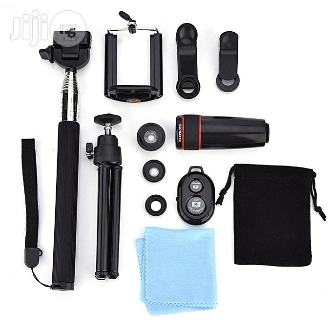10 In 1 Phone Camera Telescope Lens Kit Universal Clip | Accessories for Mobile Phones & Tablets for sale in Surulere, Lagos State, Nigeria