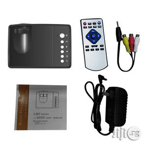 Portable SD30 Mini Pocket LED Projector | TV & DVD Equipment for sale in Lagos State, Ikeja