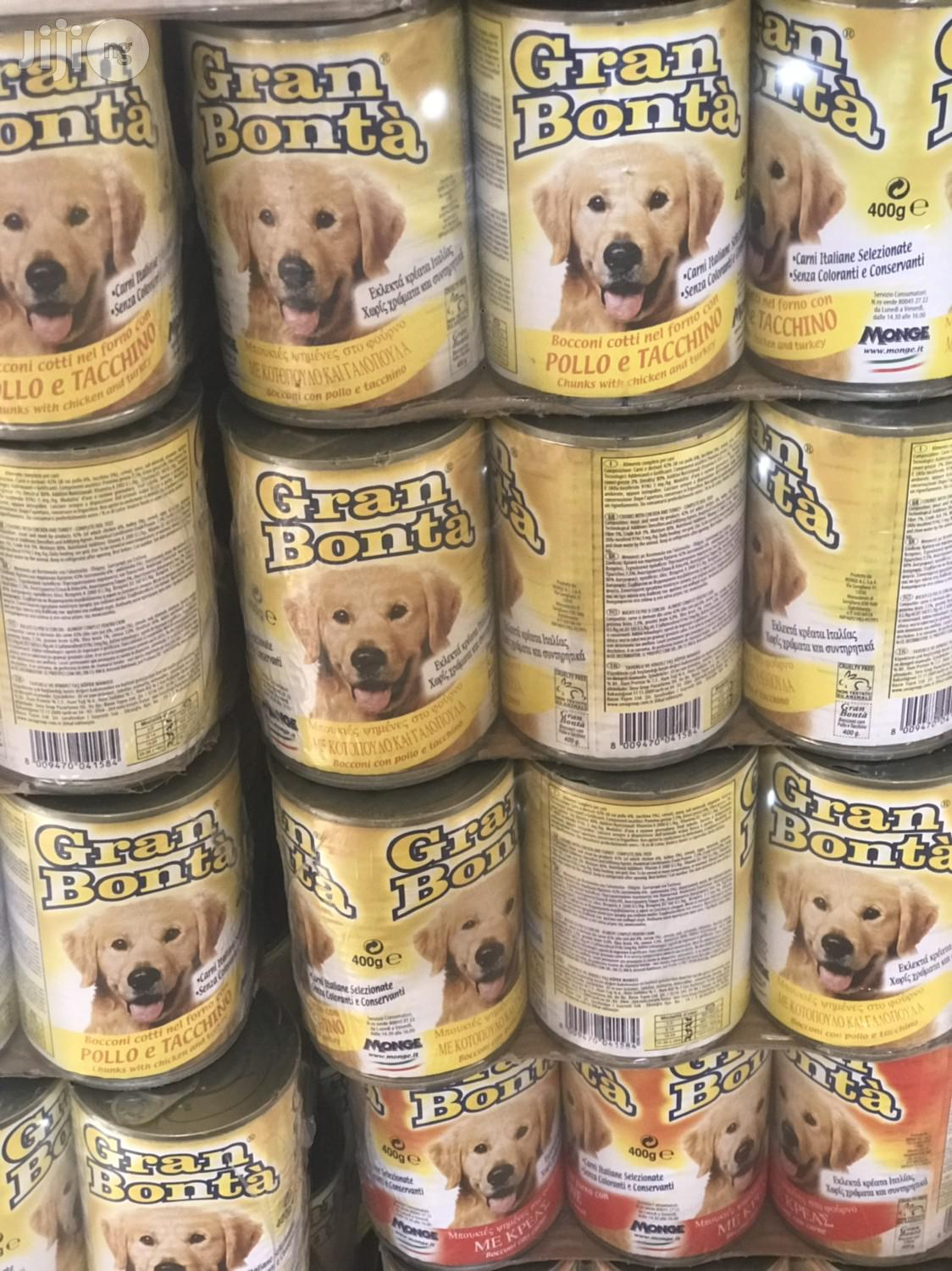 Gran Bonta Canned Dog Food 24cans | Pet's Accessories for sale in Agege, Lagos State, Nigeria