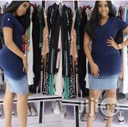 Otl Denim Gown | Clothing for sale in Lagos State
