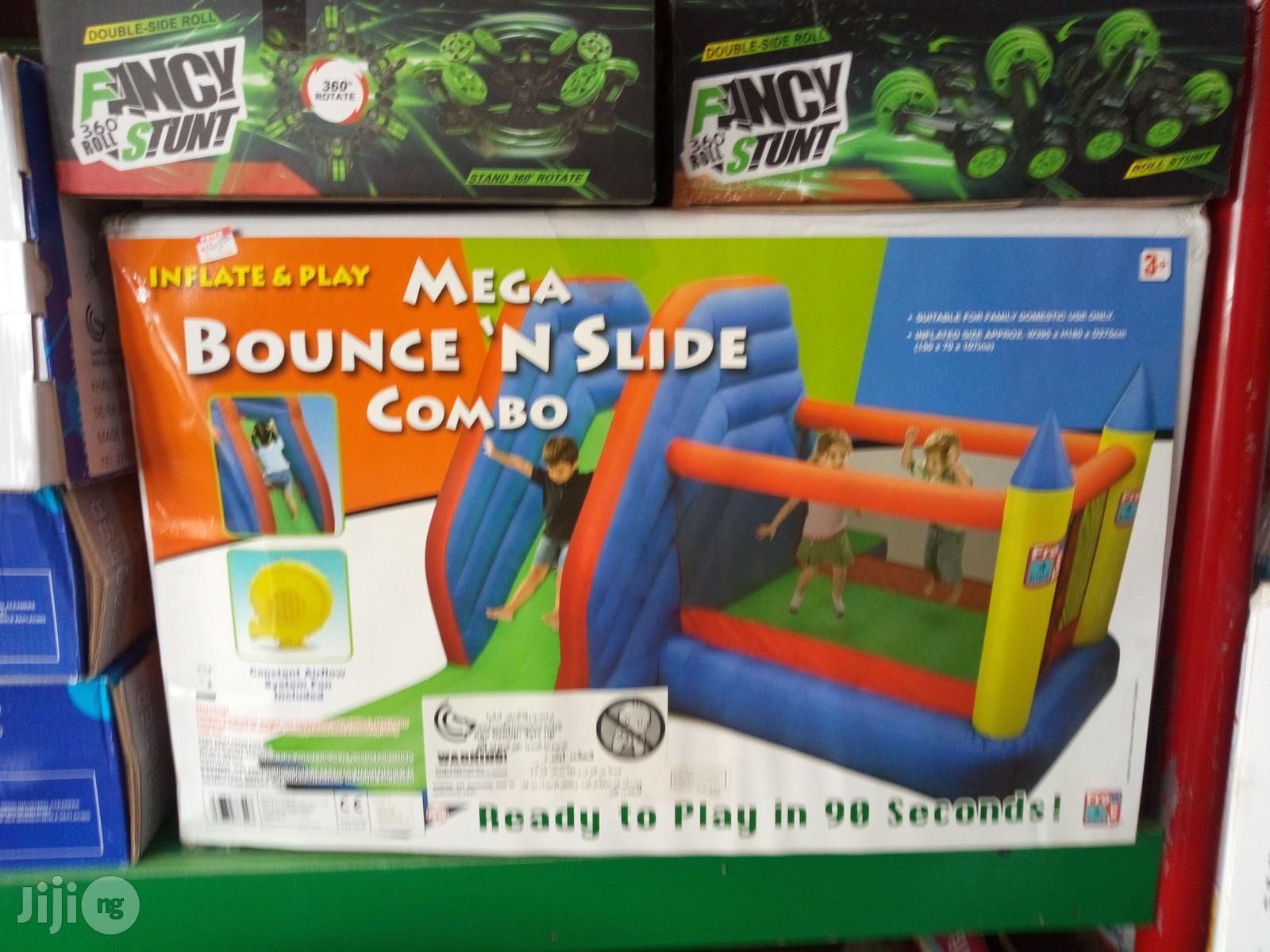 Mega Bouncing Castle With Slide