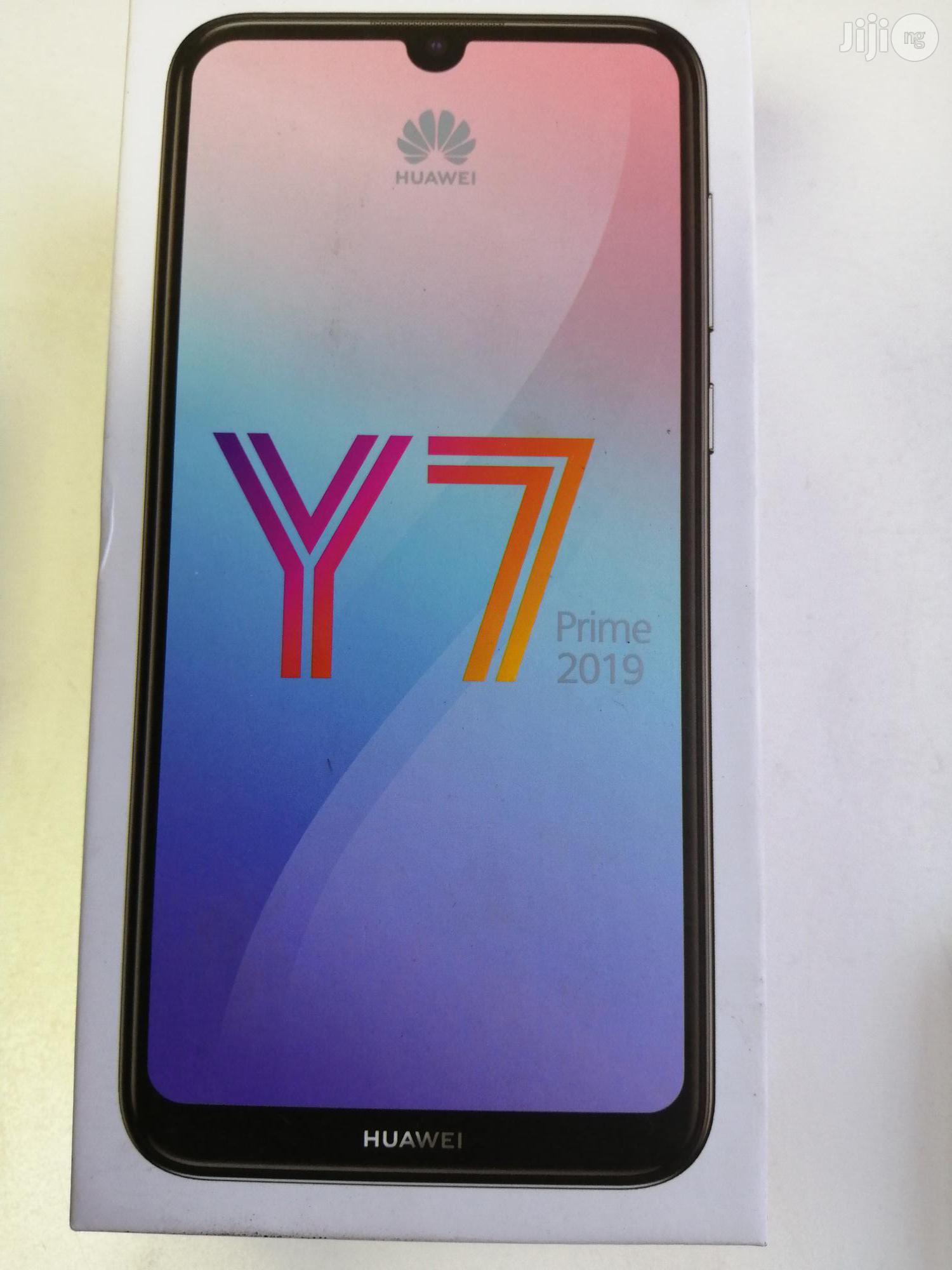 New Huawei Y7 Prime 32 GB Black