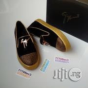 Giuseppe Zanotti Stud Toe Low Cut Gold Sole Sneakers | Shoes for sale in Lagos State, Ojo