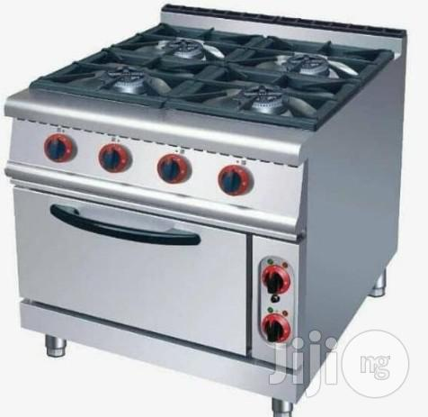 4burner Gas Cooker